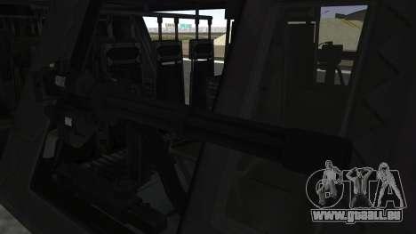UH-80 Ghost Hawk für GTA San Andreas rechten Ansicht
