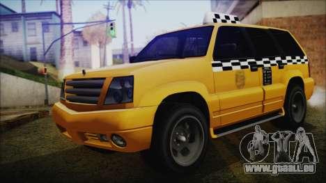 Albany Cavalcade Taxi (Saints Row 4 Style) pour GTA San Andreas