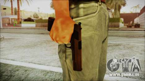 Original Colt 45 HD pour GTA San Andreas