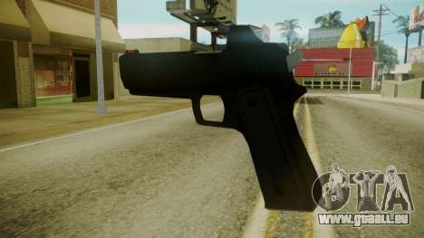 GTA 5 Desert Eagle pour GTA San Andreas troisième écran