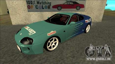 Toyota Supra Falken Drift für GTA San Andreas
