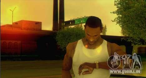Watches Mod pour GTA San Andreas deuxième écran