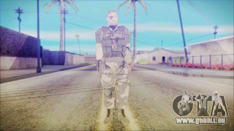 MGSV Phantom Pain Snake Normal Splitter pour GTA San Andreas deuxième écran