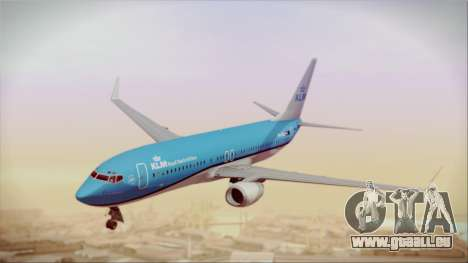 Boeing 737-800 KLM Royal Dutch Airlines für GTA San Andreas