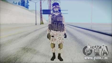 Bundeswehr Desert v1 pour GTA San Andreas deuxième écran