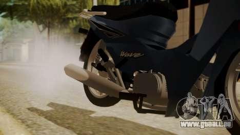 Honda Wave pour GTA San Andreas vue de droite