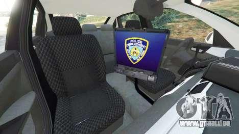 GTA 5 Chevrolet Impala NYPD rechte Seitenansicht