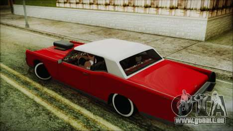 GTA 5 Vapid Chino Custom IVF für GTA San Andreas linke Ansicht
