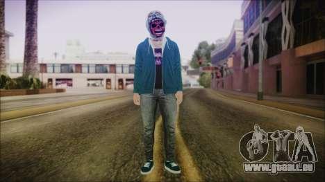 DLC Halloween GTA 5 Skin 1 pour GTA San Andreas deuxième écran