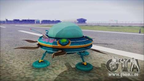 X808 UFO pour GTA San Andreas