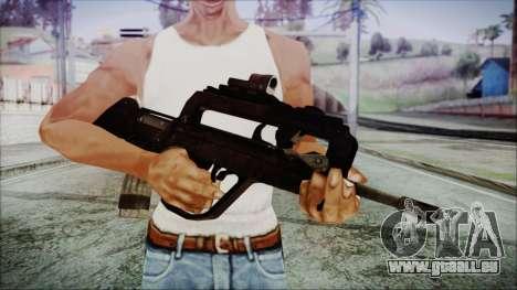 Famas G2 pour GTA San Andreas troisième écran