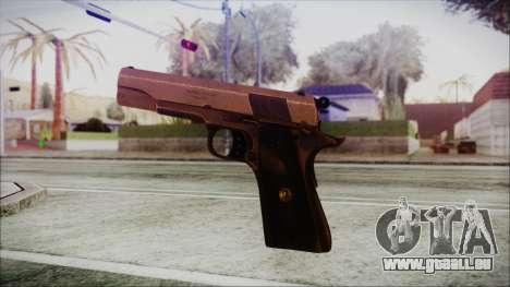 Original Colt 45 HD pour GTA San Andreas troisième écran