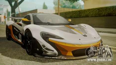 McLaren P1 GTR 2015 für GTA San Andreas