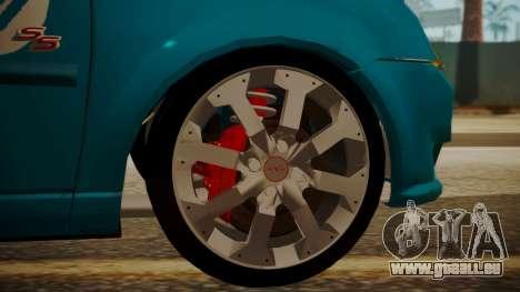 Chevrolet Meriva de Seguridad Vial für GTA San Andreas rechten Ansicht