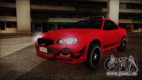 Nissan Skyline R34 Offroad Spec für GTA San Andreas