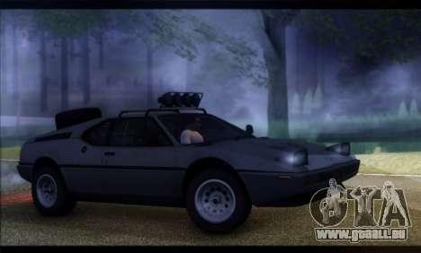 BMW M1 E26 Rusty Rebel pour GTA San Andreas