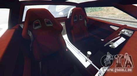 Spyker C8 Aileron pour GTA 5