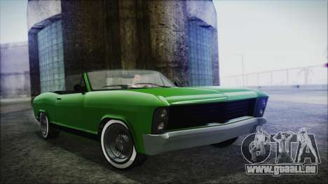 GTA 5 Albany Buccaneer Hydra Version IVF pour GTA San Andreas