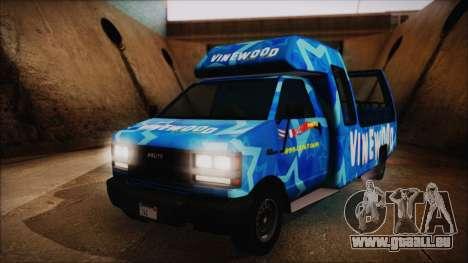 Vinewood VIP Star Tour Bus (Fixed) für GTA San Andreas