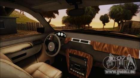 GTA 5 Declasse Granger SA Style pour GTA San Andreas vue de droite