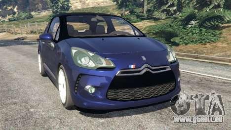 Citroen DS3 2011 pour GTA 5