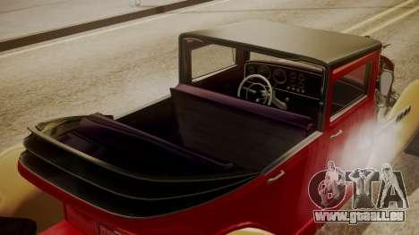 GTA 5 Albany Franken Stange pour GTA San Andreas vue intérieure