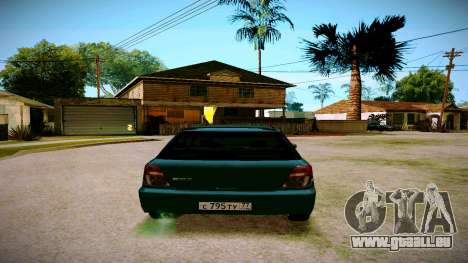 Subaru Impreza WRX STI Wagon für GTA San Andreas rechten Ansicht