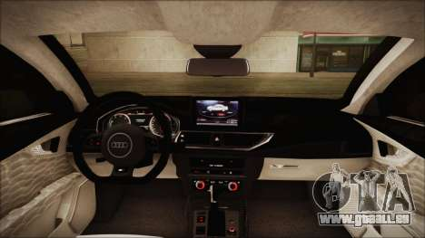 Audi RS7 Sportback 2015 für GTA San Andreas Unteransicht