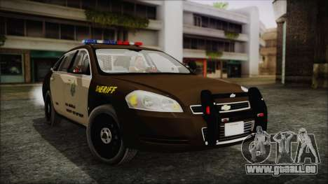 Chevrolet Impala SASD Sheriff Department für GTA San Andreas