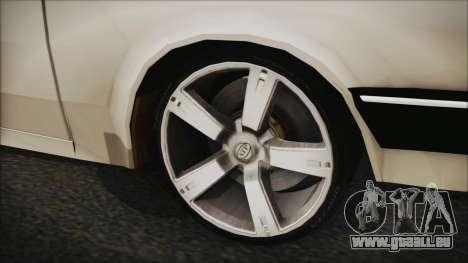 Chevrolet Chevette SLE 88 für GTA San Andreas zurück linke Ansicht
