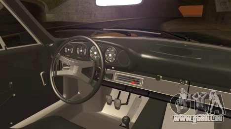 Porsche 911 Carrera RS 2.7 (901) 1973 pour GTA San Andreas sur la vue arrière gauche