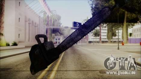 Helloween Chainsaw für GTA San Andreas zweiten Screenshot
