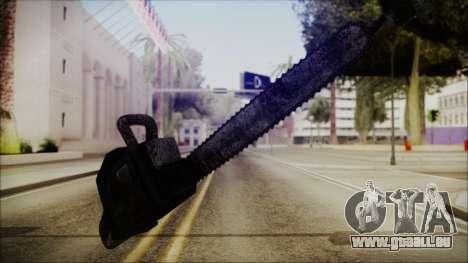 Helloween Chainsaw für GTA San Andreas zweiten Screenshot