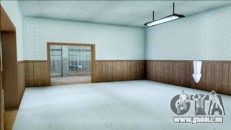 New Interior for SFPD für GTA San Andreas her Screenshot