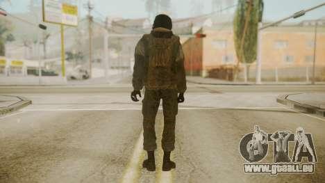 Spetsnaz Operator - 2010s pour GTA San Andreas deuxième écran