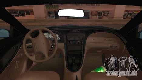 Ford Mustang GT 1993 v1.1 für GTA San Andreas rechten Ansicht