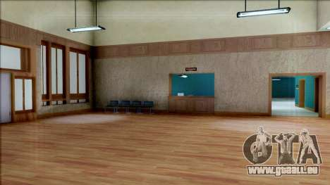 New Interior for SFPD für GTA San Andreas neunten Screenshot