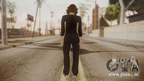 GTA Online - Custom Girl (Lowrider DLC Clothes) pour GTA San Andreas troisième écran