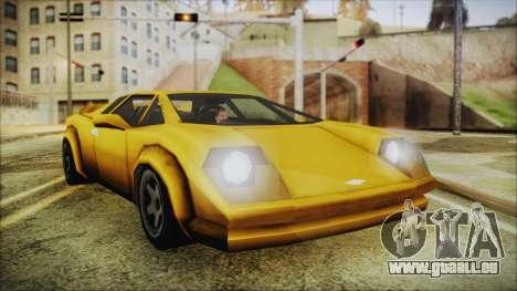 Vice City Infernus für GTA San Andreas