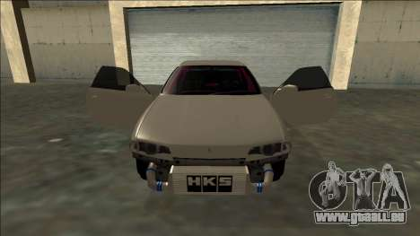 Nissan Skyline R32 Drift pour GTA San Andreas salon