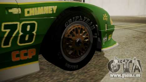 Ford Mustang Cobra 1994 TransAm pour GTA San Andreas sur la vue arrière gauche