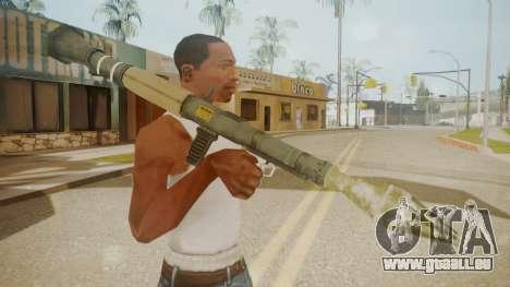 GTA 5 Rocket Launcher für GTA San Andreas dritten Screenshot