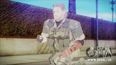 MGSV Phantom Pain Snake Normal Splitter pour GTA San Andreas