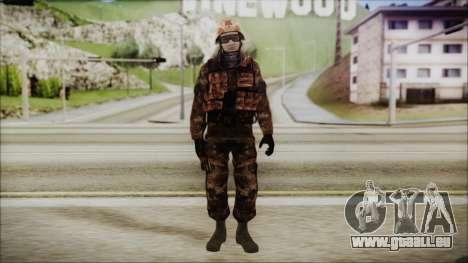 Chinese Army Desert Camo 1 für GTA San Andreas zweiten Screenshot