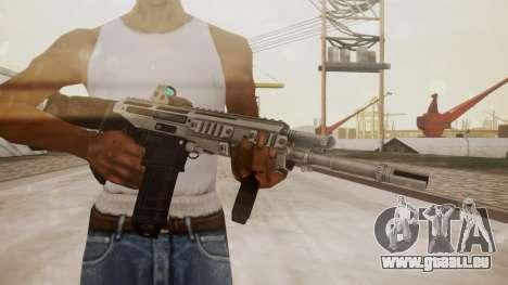 Bushmaster ACR Silver pour GTA San Andreas troisième écran