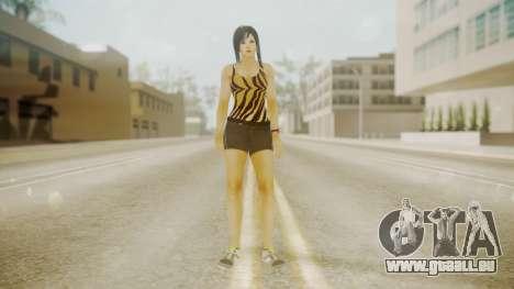 DoA Kokoro pour GTA San Andreas deuxième écran