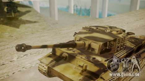 Panzerkampfwagen VI Tiger Ausf. H1 pour GTA San Andreas vue de droite
