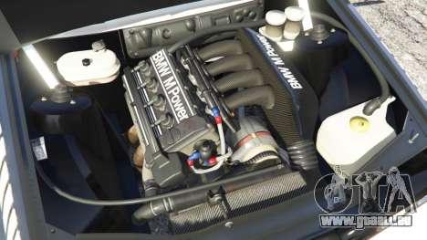 GTA 5 BMW M3 (E30) 1991 [Nalan] v1.2 arrière droit vue de côté
