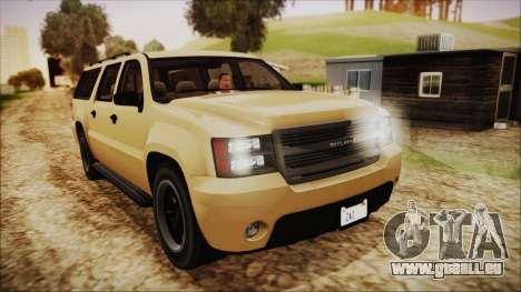 GTA 5 Declasse Granger SA Style für GTA San Andreas