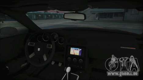 Dodge Challenger Daytona pour GTA San Andreas vue de droite